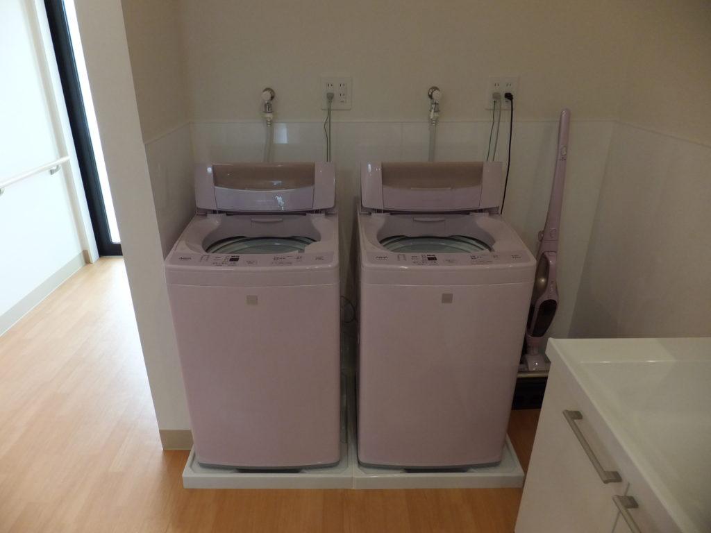 洗濯場(洗濯機)